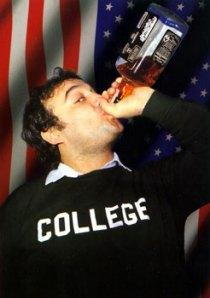 """Man, I love college."""